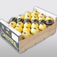 Chistera limón madera 10k