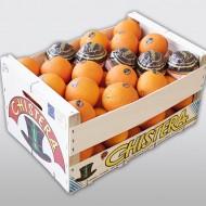 Chistera naranja madera 15k tapa