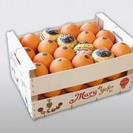Mary naranja madera 15k