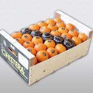Chistera mandarina madera 10k